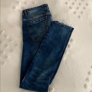 Zara Jeans - Zara Distressed Skinnies